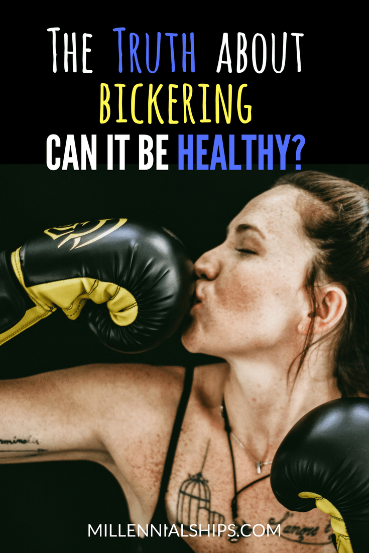 can bickering be healthy? Is bickering healthy? the truth about bickering