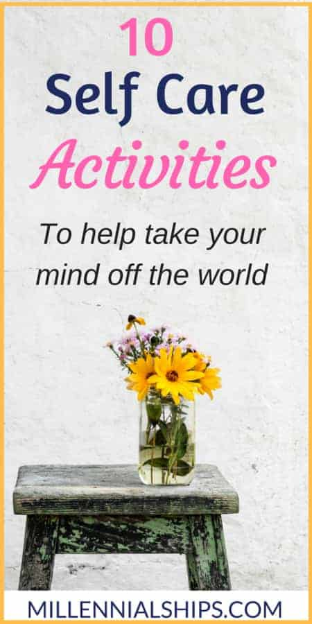 Self Care activies self-care-activities- self care actitives for women