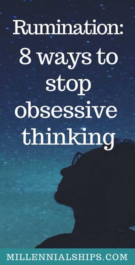 Stop rumination
