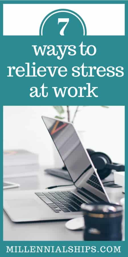 how to relieve stress at work