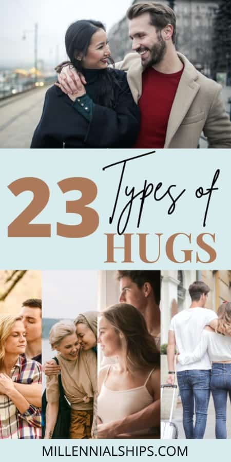 different types of hugs